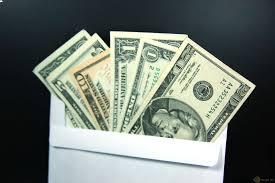 Cash in Envelope